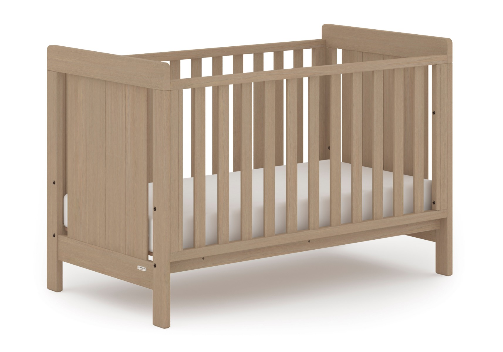 Noosa Cot bed - Almond