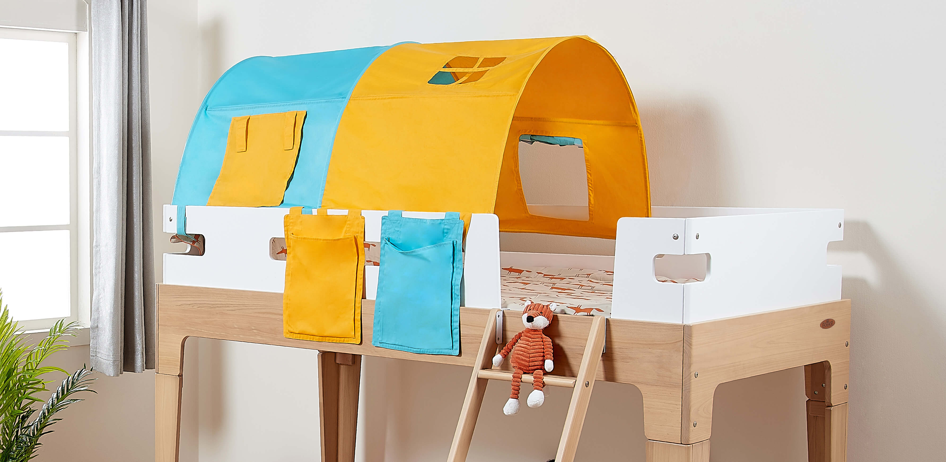 Levitate Bed Tent on a Tidy Single Loft Bed