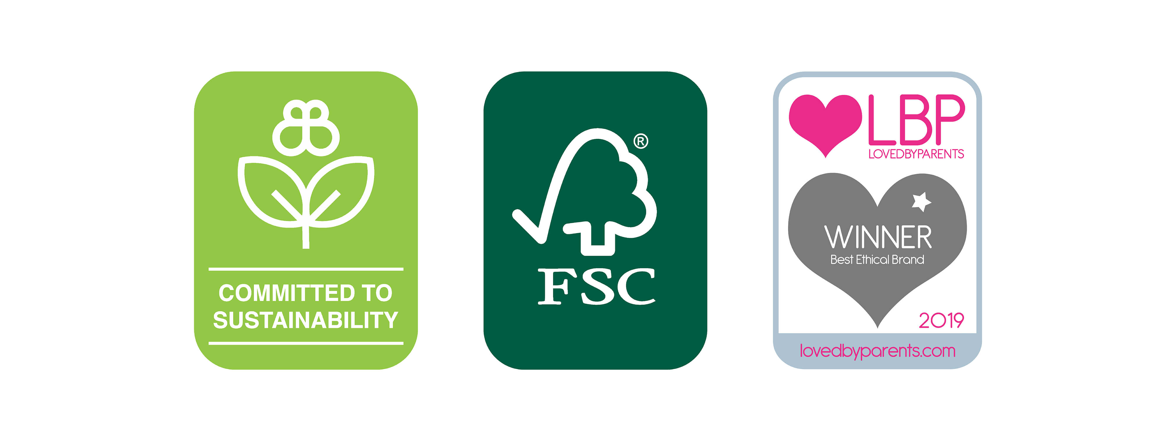 Committed to Sustainability, FSC Certified and LBP Winner 2019