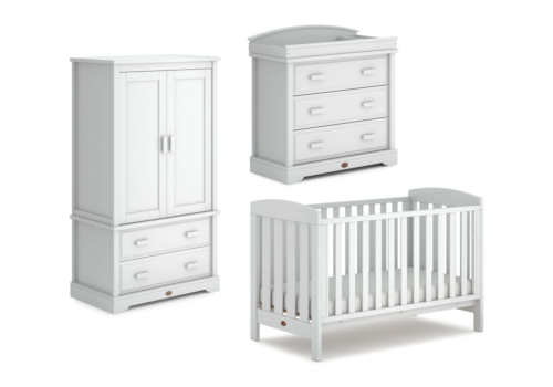 Alice 3 Piece Nursery Furniture Set (with Dresser)
