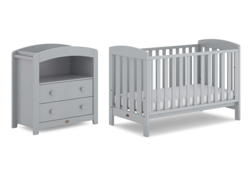Alice 2 Piece Nursery Furniture Set (with Chest Changer)