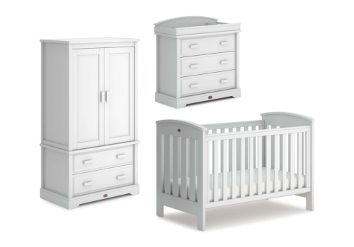 Classic 3 Piece Nursery Furniture Set (with Dresser)