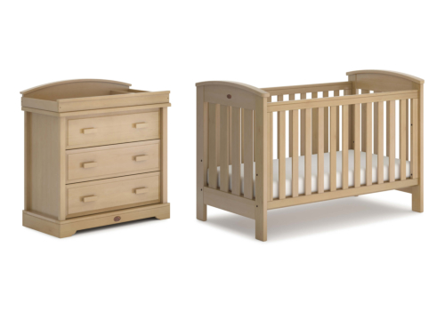 Classic 2 Piece Nursery Furniture Set (with Dresser)