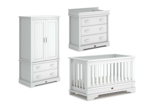 Eton Convertible Plus 3 Piece Nursery Furniture Set (with Dresser)