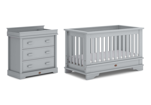Eton Convertible Plus 2 Piece Nursery Furniture Set (with Dresser)
