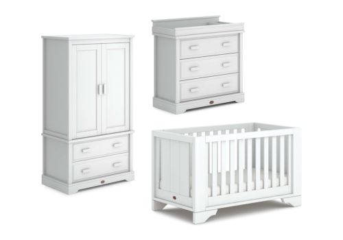 Eton Expandable Cot Bed 3 Piece Nursery Room Set