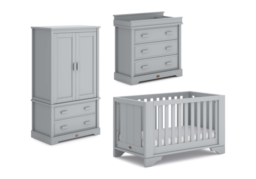 Eton Expandable 3 Piece Nursery Furniture Set (with Dresser)