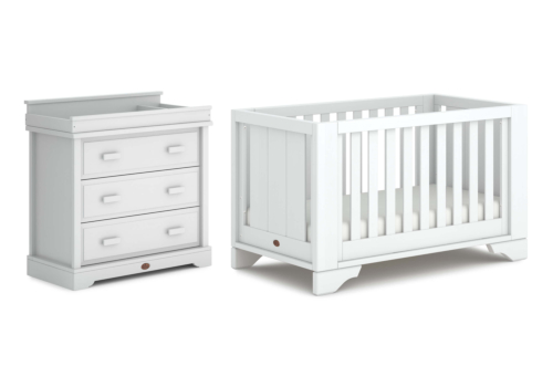 Eton Expandable Cot Bed 2 Piece Nursery Room Set