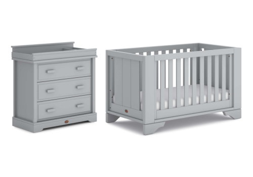 Eton Expandable 2 Piece Nursery Furniture Set (with Dresser)