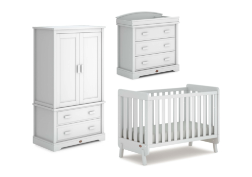 Harbour 3 Piece Nursery Furniture Set (with Dresser)