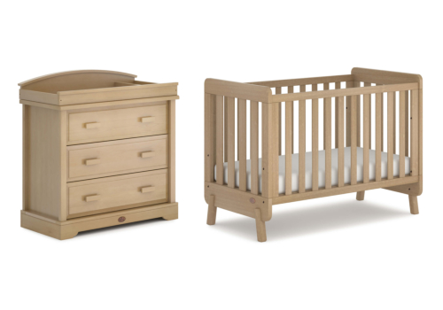 Harbour 2 Piece Nursery Furniture Set (with Dresser)