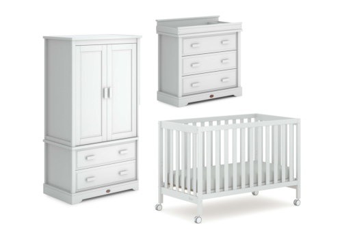 Heron 3 Piece Nursery Furniture Set (with Dresser)