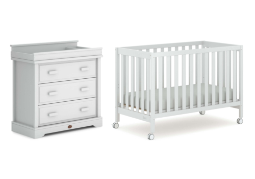 Heron 2 Piece Nursery Furniture Set (with Dresser)