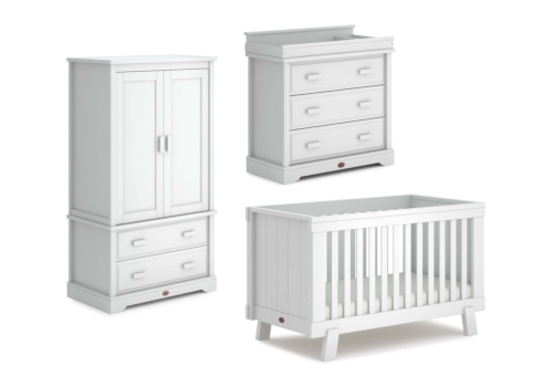 Lucia 3 Piece Nursery Furniture Set (with Dresser)
