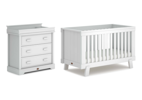 Lucia 2 Piece Nursery Furniture Set (with Dresser)