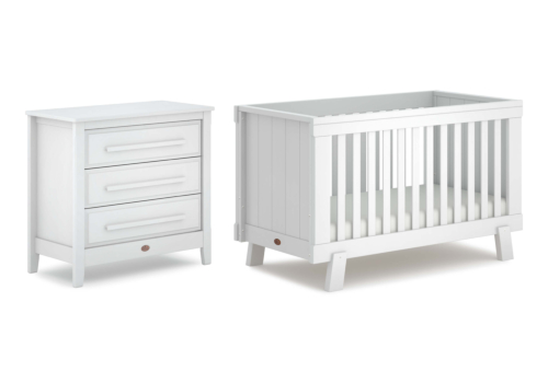 Lucia 2 Piece Nursery Furniture Set (with Chest)