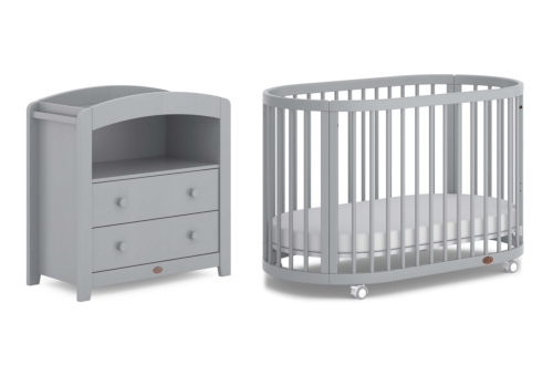 Oasis 2 Piece Nursery Furniture Set (with Chest Changer)