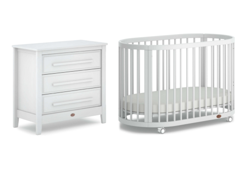 Oasis 2 Piece Nursery Furniture Set (with Chest)