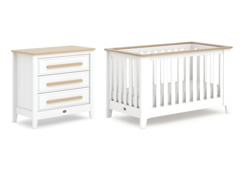 Pioneer Expandable Cot Bed 2 Piece Nursery Room Set