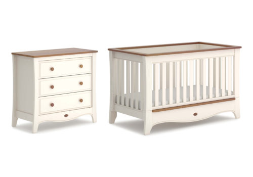 Provence Convertible Plus 2 Piece Nursery Furniture Set (with Chest)