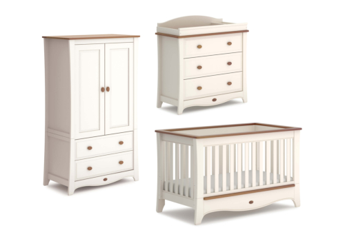 Provence Convertible Plus 3 Piece Nursery Furniture Set (with Dresser)