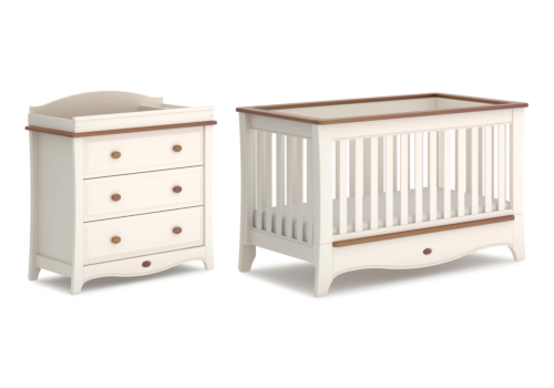 Provence Convertible Plus 2 Piece Nursery Furniture Set (with Dresser)