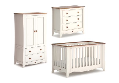 Provence Expandable 3 Piece Nursery Furniture Set (with Chest)
