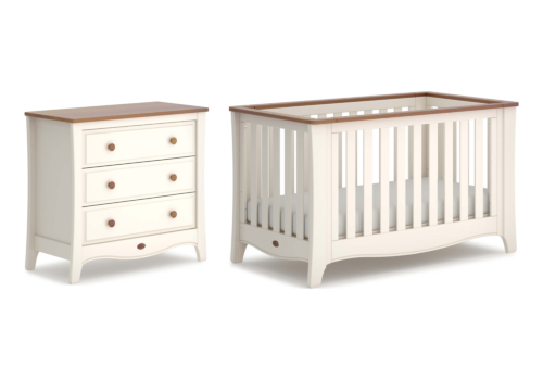 Provence Expandable 2 Piece Nursery Room Set (with Chest)