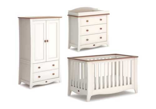 Provence Expandable 3 Piece Nursery Furniture Set (with Dresser)