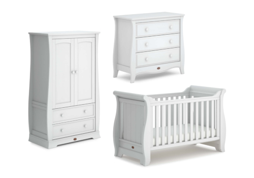 Sleigh 3 Piece Nursery Furniture Set (with Chest)