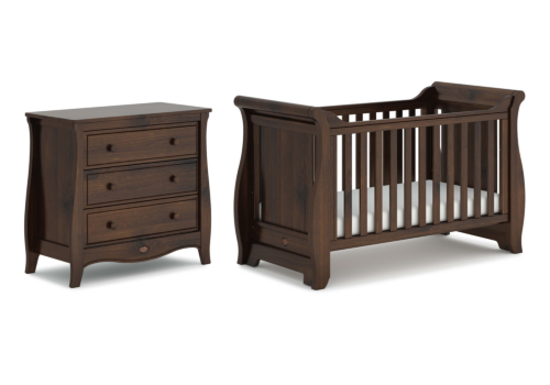 Sleigh 2 Piece Nursery Furniture Set (with Chest)