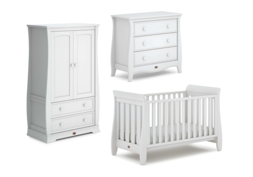 Sleigh Urbane 3 Piece Nursery Furniture Set (with Chest)