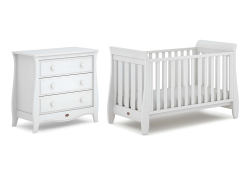 Sleigh Urbane 2 Piece Nursery Furniture Set (with Chest)