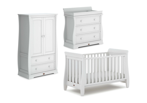 Sleigh Urbane 3 Piece Nursery Furniture Set (with Dresser)