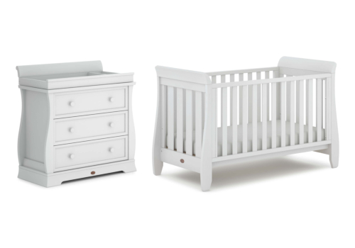 Sleigh Urbane 2 Piece Nursery Furniture Set (with Dresser)