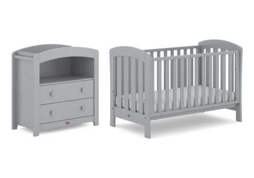 Sunshine 2 Piece Nursery Furniture Set (with Chest Changer)
