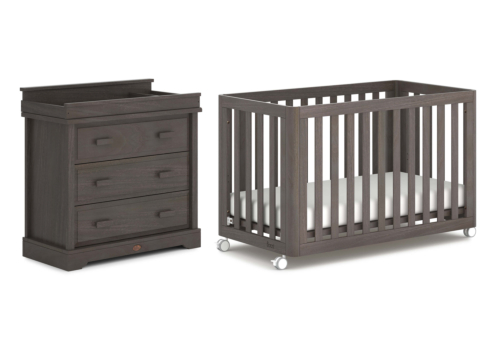 Turin 2 Piece Nursery Furniture Set (with Dresser)
