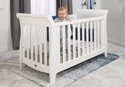 Sleigh Expandable Cot Bed