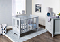Harbour Compact Cot Pebble | Nursery Furniture