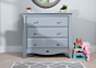 Sleigh Chest of Drawers Smart Assembly