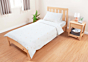 Tidy Single Bed