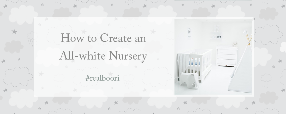 Creating An All White Nursery - with Harlen and Chelsea White