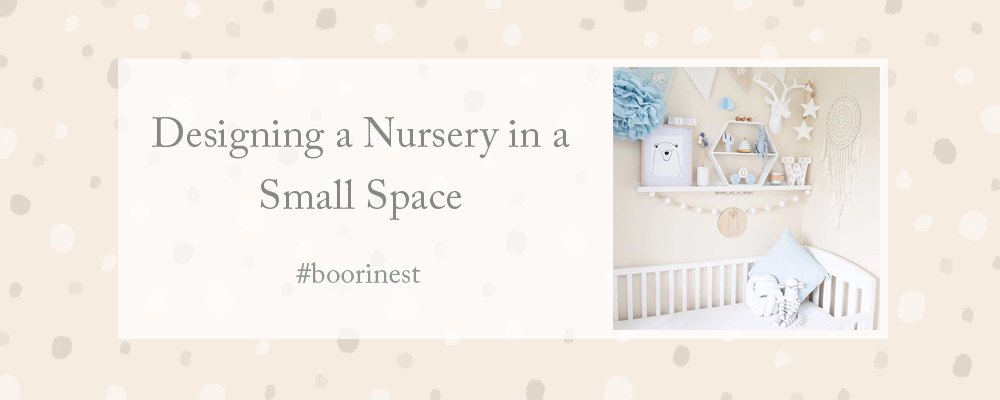 How To Design Your Dream Nursery In A Small Space